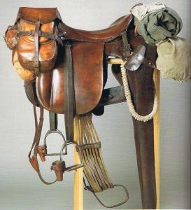 M25 German Cavalry Saddle